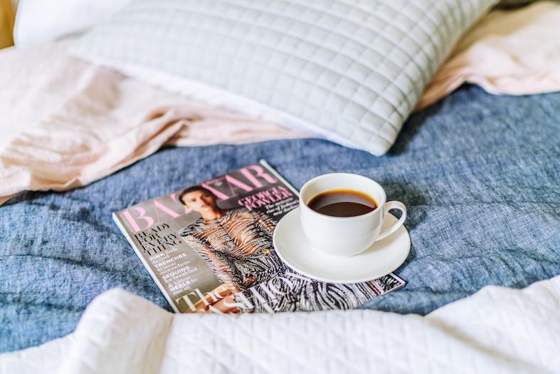 Hampton bed styling