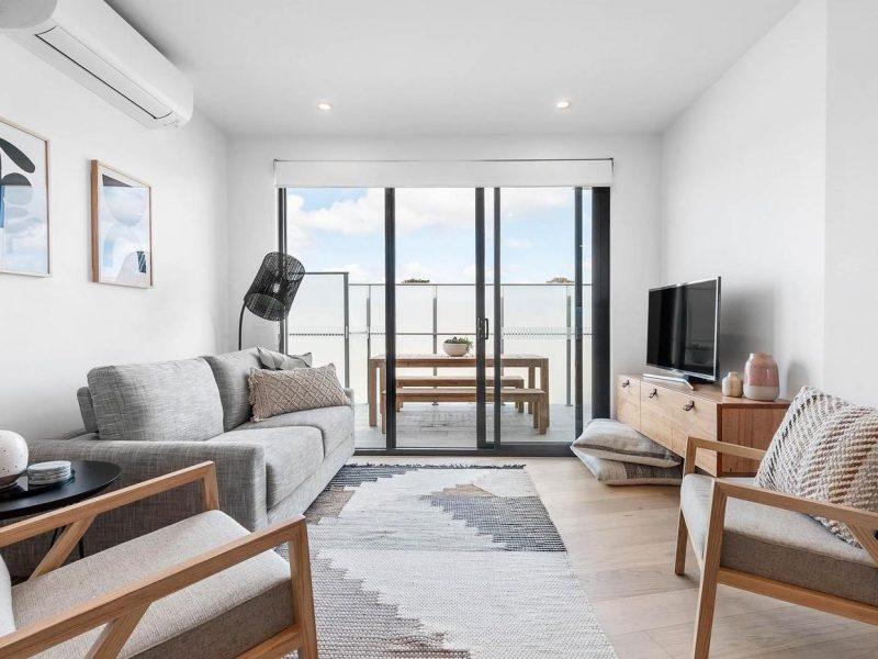 Rosebud living area
