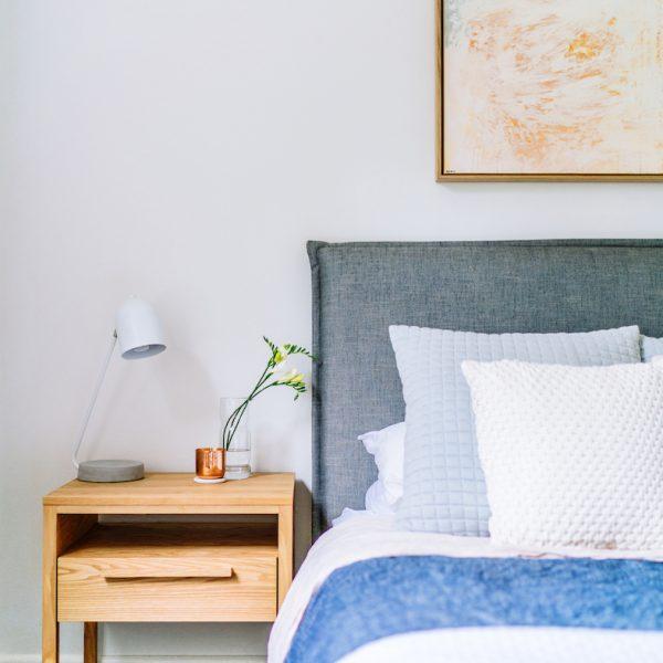 Hampton master bed